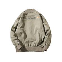 Japonés estilo Hip Hop bombardero piloto de Harajuku street impresión kodak  chaquetas hombres mujeres abrigo marca 16b6e1150ca