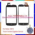 """Черный 3.7 """"телефона Для Nokia Lumia 610 N610 Touch Сенсорный Экран Панели Дигитайзер Датчик Переднее Стекло Объектива Код Отслеживания Бесплатная Доставка"""