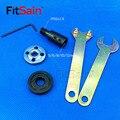 FitSain-Hoja de la varilla de conexión buje del eje del motor/5/6/8/10/12/14 mm hoja de sierra amoladora de ángulo para hoja de 16mm/20mm