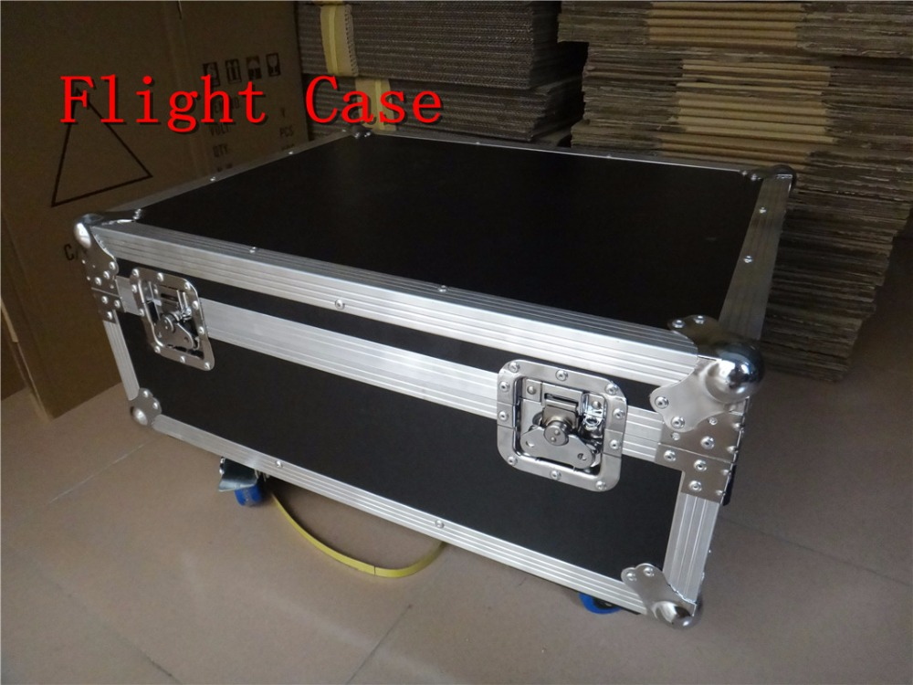 Empty Flight Case for Installed four MINI LED 9x10W Led Spider Light empty death