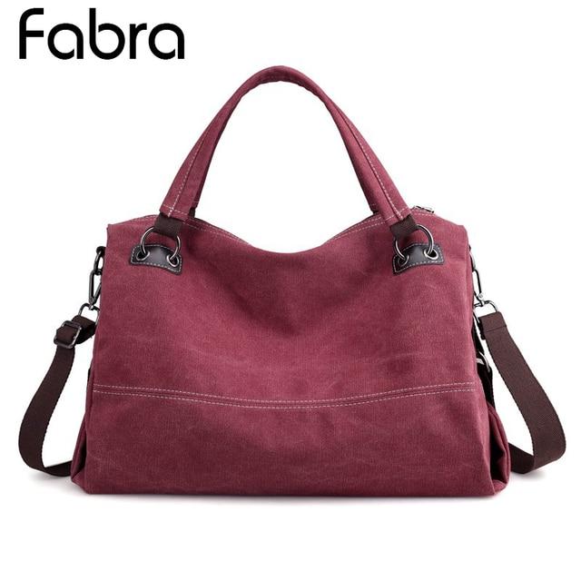 f4b0284fd5 Vintage Woman Canvas Handbag Ladies Casual Shoulder Bag Female Crossbody  Bag Messenger Bag For Women Tote Bags Bolsa Feminina