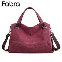 Vintage Woman Canvas Handbag Ladies Casual Shoulder Bag Female Crossbody Bag Messenger Bag For Women Tote Bags Bolsa Feminina