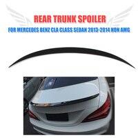 FRP Black Trunk Spoiler Boot Wing For Mercedes Benz CLA Class CLA250 CLA200 CLA180 CLA220 CLA260