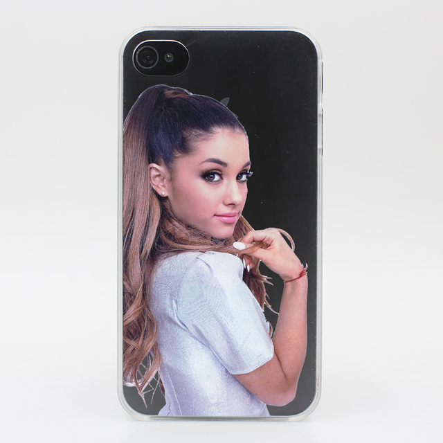 Ariana Grande Crystal Hard Transparent Case Cover for iPhone 7 7 Plus 6 6S Plus 5 5S SE 5C 4 4S
