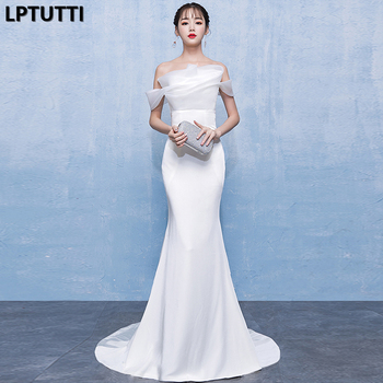 LPTUTTI Ruched Sequin New For Women Elegant Date Ceremony Party Prom Gown Formal Gala Events Luxury Long Evening Dress