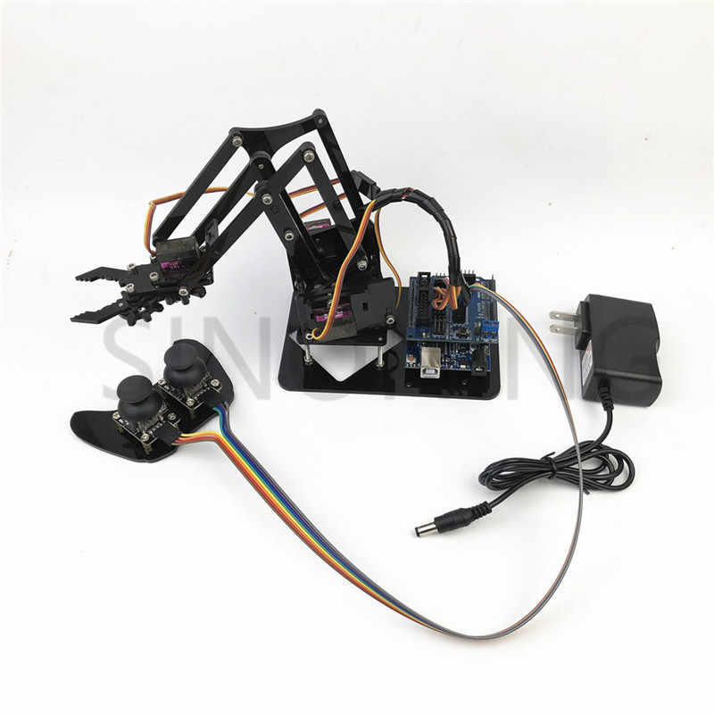Detail Feedback Questions about 4DOF manipulator arduino Robotic arm