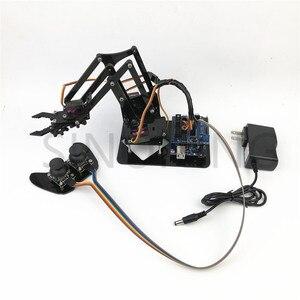 Image 1 - 4DOF манипулятор arduino, Роботизированный пульт дистанционного управления ps2 mg90s SNAM1900