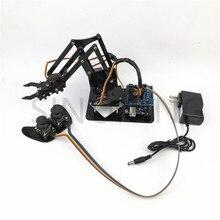 4DOF thao túng Arduino cánh tay Robot điều khiển từ xa PS2 MG90S SNAM1900