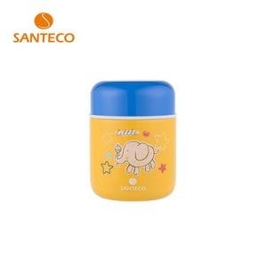 Image 1 - Santeco מזון תרמוס לילדים נירוסטה קריקטורה מזון צנצנת בקבוק תרמוס בית ספר משרד בחוץ פיקניק 280ml