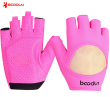 Boodun Women Gym Body Building Weight Lifting Training Fitness Gloves Sports Yoga Cycling Bike Gloves