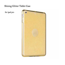 9.7″ Hot Sale Slim Shining Glitter Tablet Case Back Cover for ipad pro 9.7 Soft TPU Translucent Protective Case Dec28