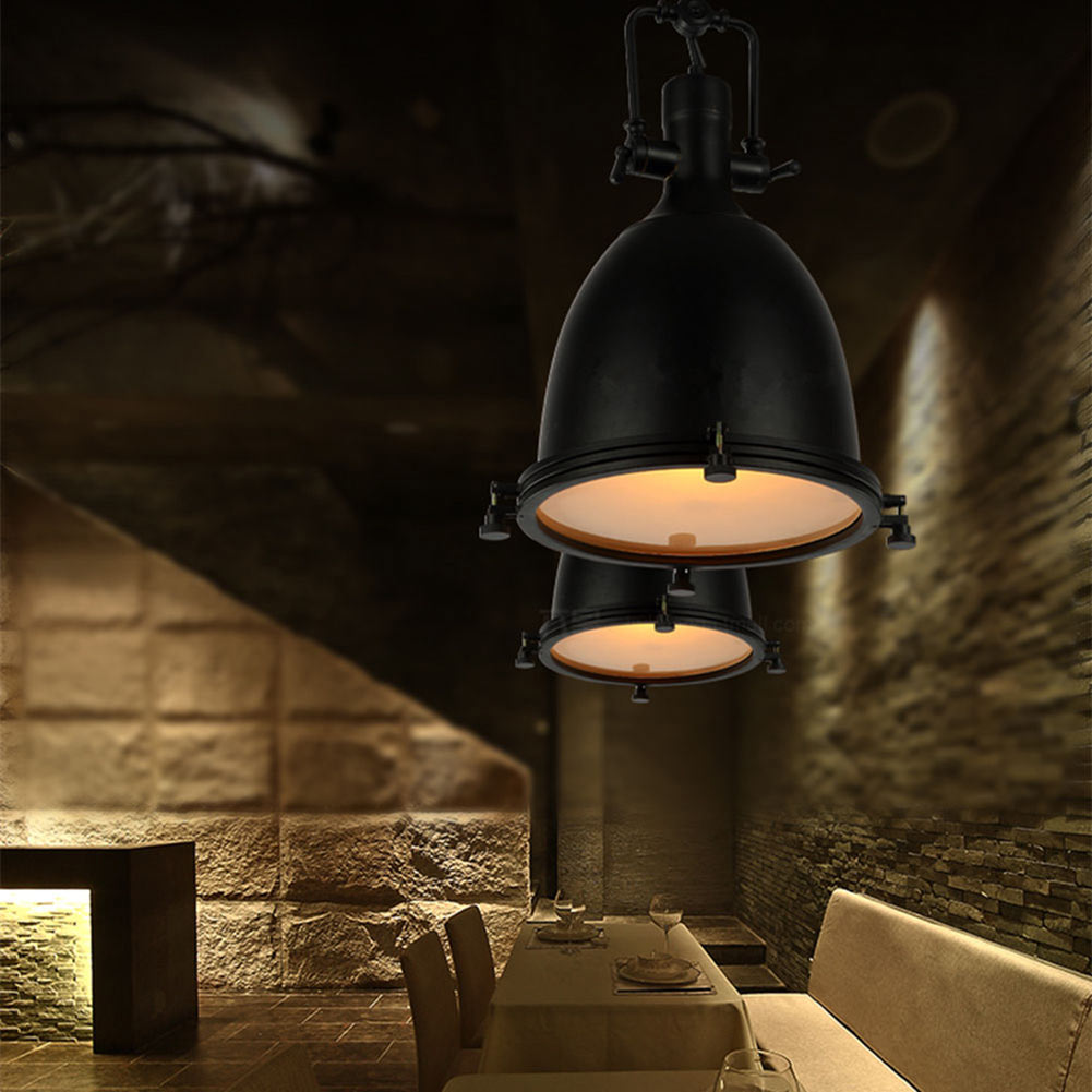 Retro LED Spot Lights Ceiling Lamp Retro Style Industrial Track Light Lamp  Barn Door Vintage Lamps For Shop Cafe Chandelier In Pendant Lights From  Lights ...