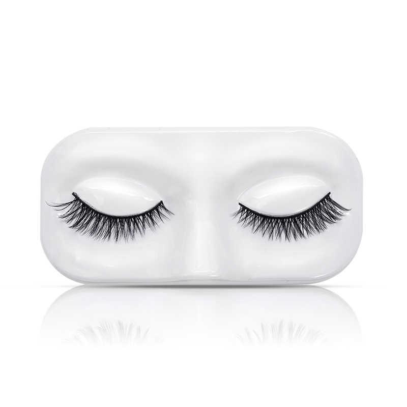 bc76d944b3a ... Genailish 3 pieces/lot Faux Mink Eyelashes MakeUp 3D Faux Mink Lashes  Mask Support Lifelike ...