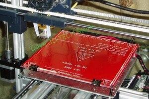 Image 4 - 220x220mm 3D 프린터 부품 유리 빌드 플레이트 표면 가열 베드 가열 베드 용 붕규산 플레이트 MK2 /MK3 Creality Ender 3/3S