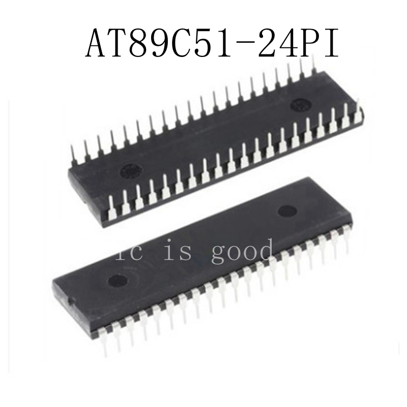 50pcs lots AT89C51 24PI AT89C51 24PU AT89C51 DIP 40 New original IC In Stock