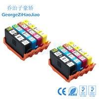 Conjuntos 2 902XL HP902XL HP902 HP 902 cartucho de tinta Compatível para HP 6968 6970 6971 IMPRESSORA