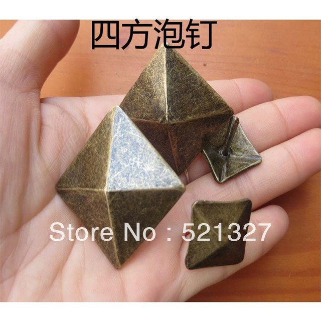 19MM Quartet Furniture Hardware Sofa Nails  decorative antique bronze doornail Nails thick