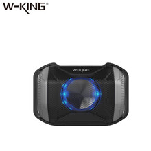2018 W-king New Arrival Outdoor IPX5 Waterproof Bluetooth Wireless Speaker S8 with LED light for Bike and Bicycle