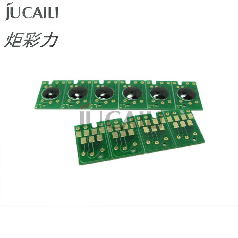 Jucaili good price 10pcs <font><b>Cartridge</b></font> Chip For <font><b>Epson</b></font> 4450 4400 4800 4880 <font><b>7800</b></font> 9800 7880 9880 Printer <font><b>Cartridge</b></font> Chip image
