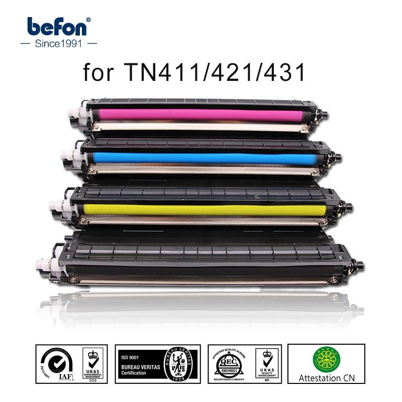 Befon Kompatibel Tonerkartusche Ersatz für Brother TN421 TN 421 TN411 TN431 411 431 DCP-L8410CDW DCP 8410 HL-L8260CDW