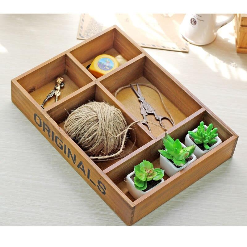 caja de de palets de madera cofres del tesoro de la vendimia retro planta bandeja