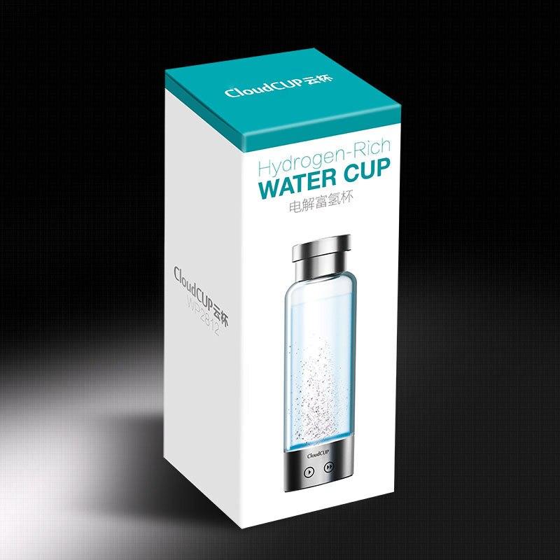 480 ml Qualité D'hydrogène-Riche Tasse D'eau Ioniseur Maker/Générateur DEUX modes super antioxydants ORP bouteille d'hydrogène - 4