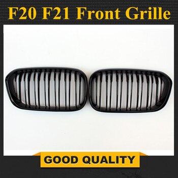 1 пара: F20 LCI ABS передний бампер двойной Решетка для BMW обновленной F21 120i 118i 118d 116i M135i 2015-2019