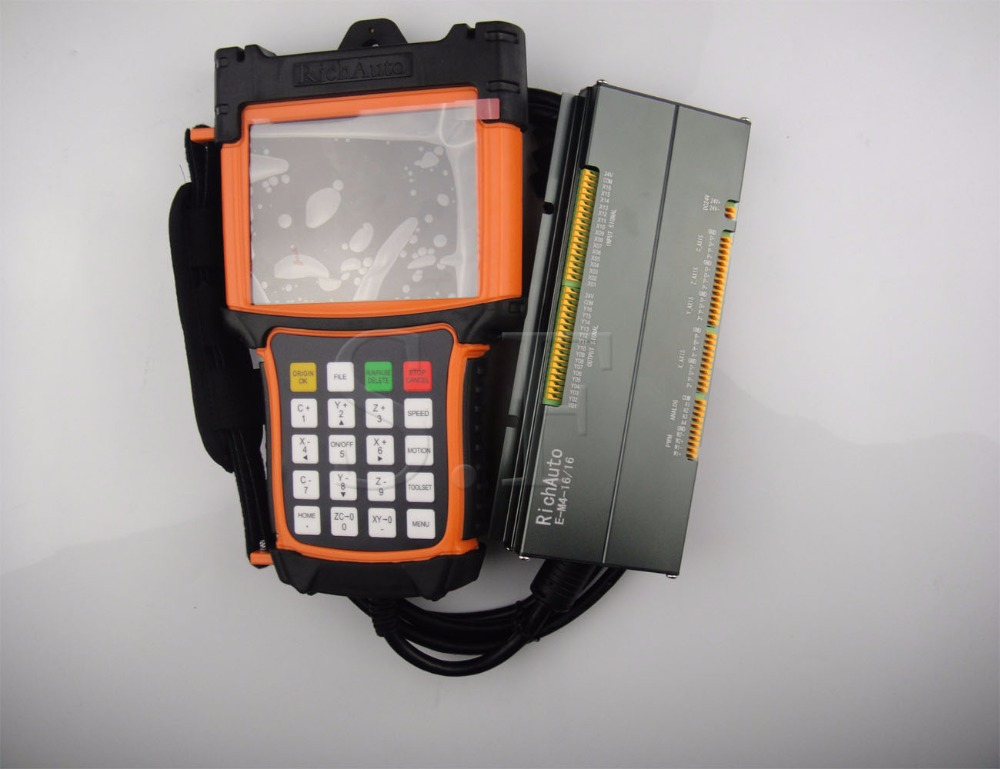 4 axes cnc système de contrôle de mouvement A58 DSP système de contrôle richauto marque livraison gratuite