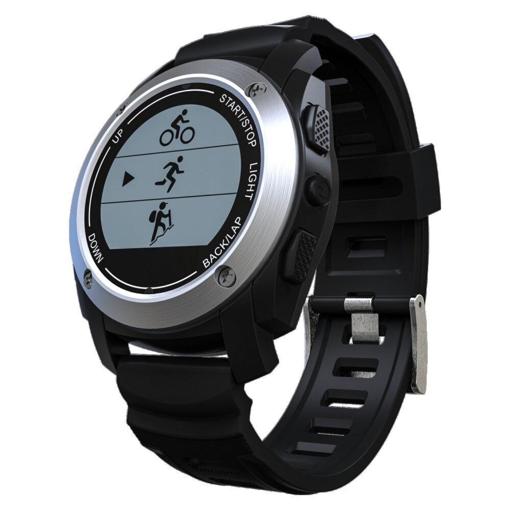 Climb Mode Heart Rate Watch Wristwatch Bluetooth GPS Watch with Run Ride Mode Smart Watch  Waterproof Smartwatch for IOS Android smart baby watch q60s детские часы с gps голубые