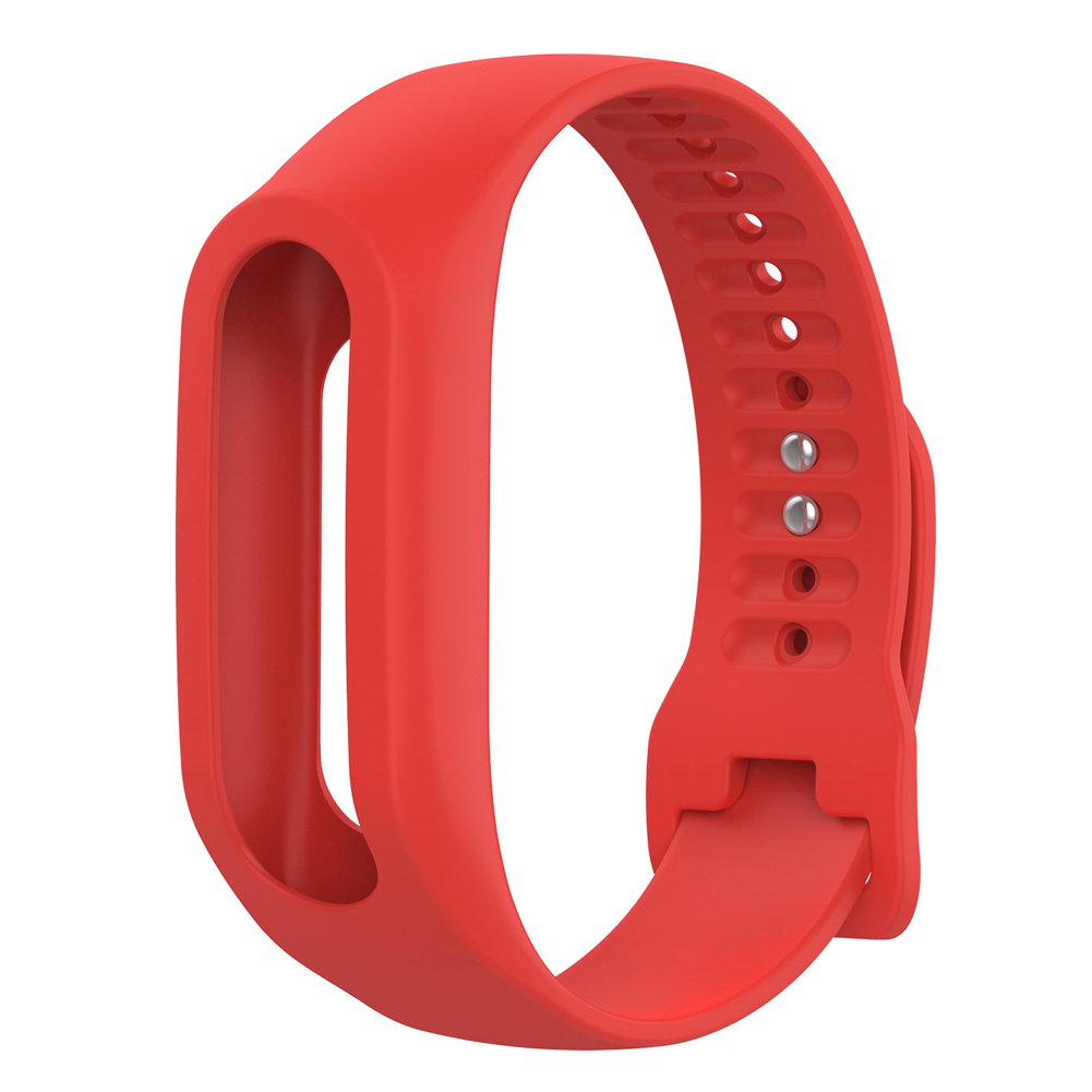 Soft Durable Colorful Strap Wristband Replacement Silicone Watchband Accessories for Tom Tom Touch Fitness Tracker Smart Watch 6