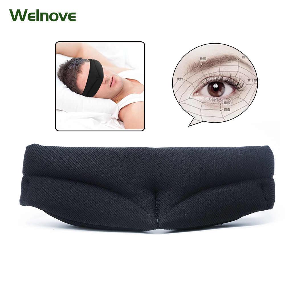 9f7e78035a8 Eyeshade Travel Sleeping Eye Mask 3D Ultra-soft Breathable Shade Cover Rest  Aid Eye Mask