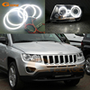 For JEEP COMPASS 2011 2012 2013 2014 2015 2016 Xenon Headlight Excellent Ultra Bright Smd Led