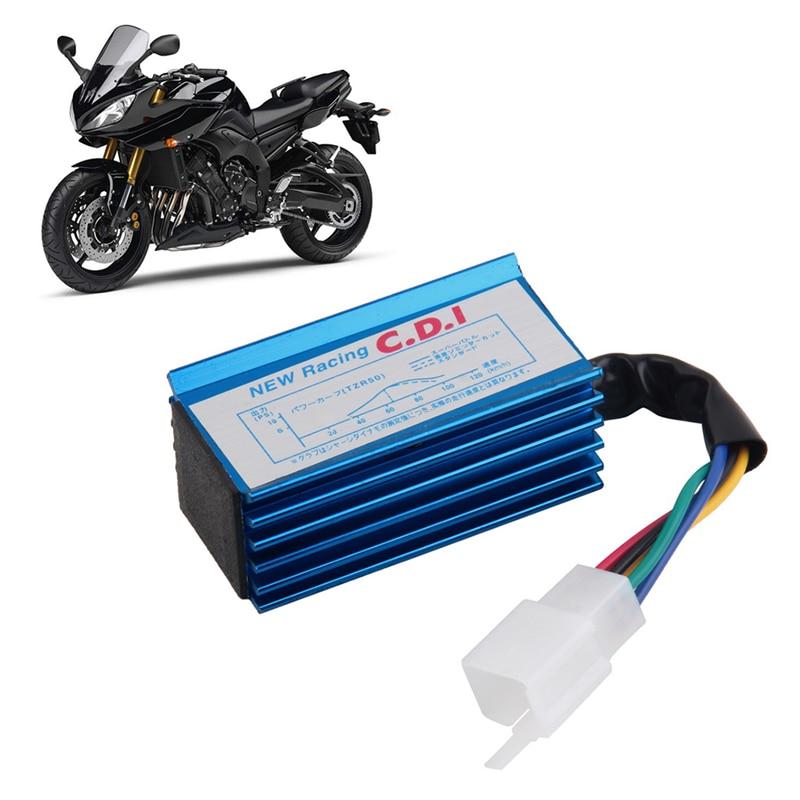 1 Pièce Performance 5 Broches Racing CDI Box Bobine D'allumage Moto Performance Accessoires pour HONDA XR50 CRF50 50 70 90 110 125cc