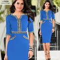 2017 invierno primavera vestidos de diseñador para mujer dark blue knitting top cinturón ajustable a cuadros dobladillo mitad de la pantorrilla moda marca casual dress