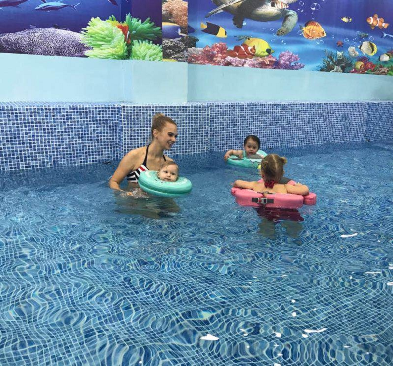 Baby Swimming Ring Solid No Inflatable Safety For accessories floating Floats Swimming Pool Toys (20)