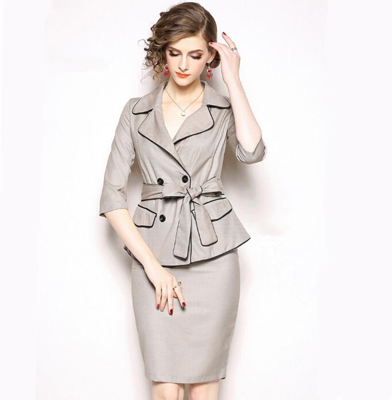 Vestiti Eleganti Signora.Femminile Donne Con Cachi Formale Signora Vestiti Eleganti Lavoro