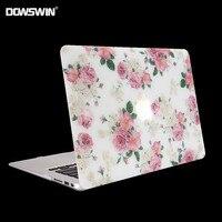القضية لماك بوك ، dowswin ل macbook 11 الهواء 13 15 برو مع الشبكية 12 بوصة الصلب pc الغلاف مع ماتي شفافة keyboard حامي