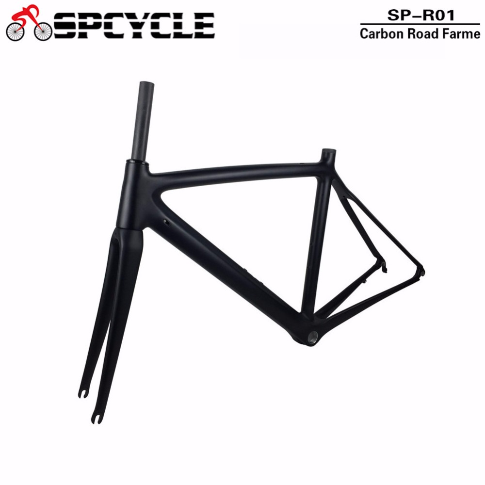 2018 New Model UD Full Carbon Road Bike Frames,T1000 Racing Bicycle Carbon Framesets,Cycling Road Bike Frames with Fork ,Clamp