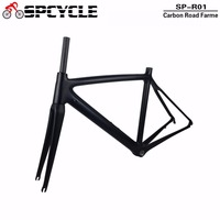 2017 Top New T1000 UD Full Carbon Road Frame Bike Racing Bicycle Frameset Accept Custom Logo