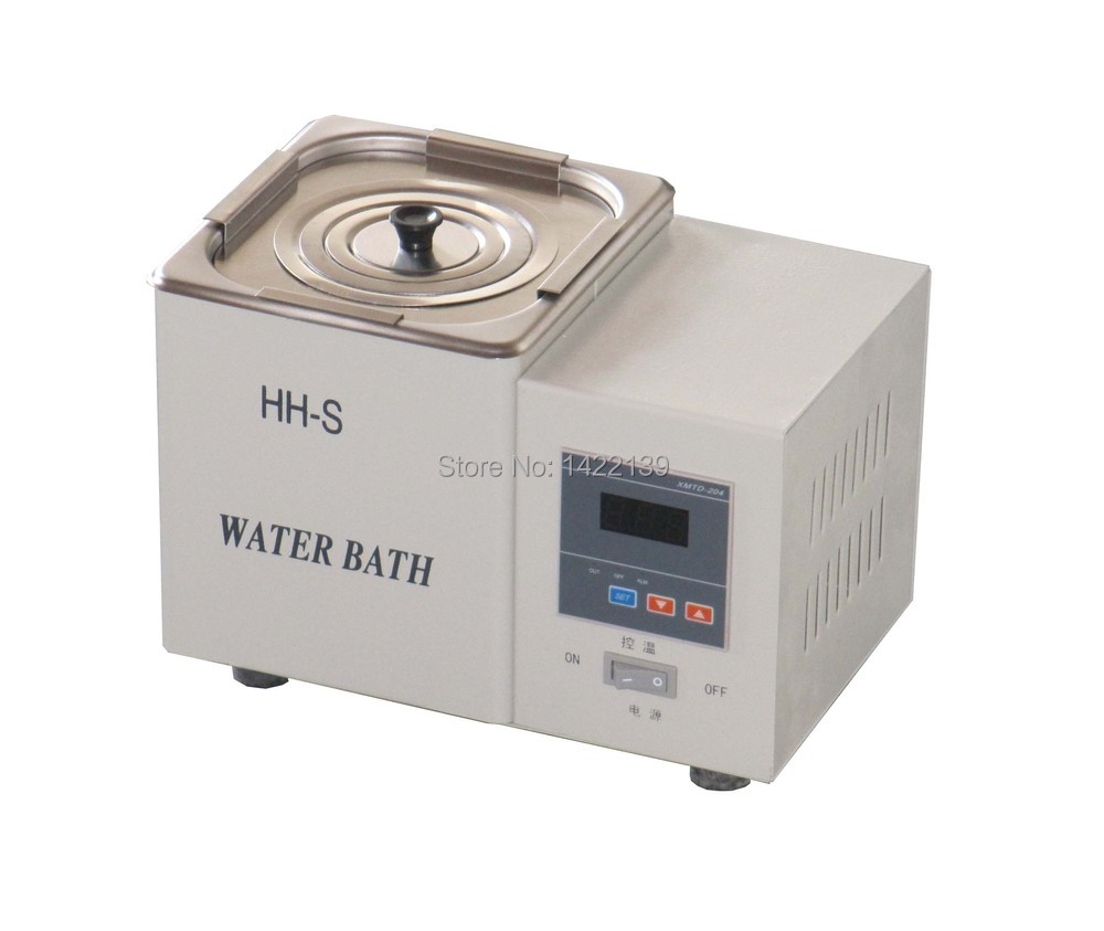 Latest Digital Lab Thermostatic Water Bath Single Hole Electric Heating New hh 4 digital lab thermostatic water bath four hole electric heating 220v laboratory supplies