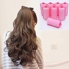 New Fashion 12 Pcs/Bag Magic Sponge Foam Cushion Hair Styling Rollers Curlers Twist Tool