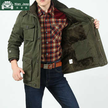Plus Size 8XL 2020 Brand Army Mens Winter Warm Thicken Jackets & Coats 100% Cotton Comfortable and Warm Military Style Jackets - DISCOUNT ITEM  41 OFF Men\'s Clothing
