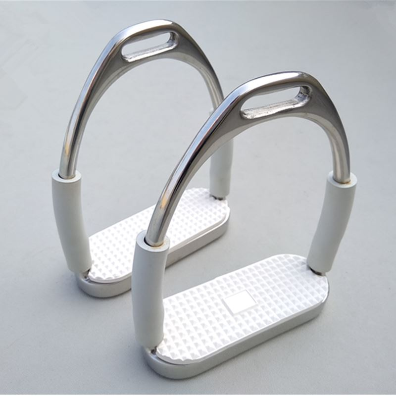 Stainless Steel Stirrups Horse Flexible Stirrup