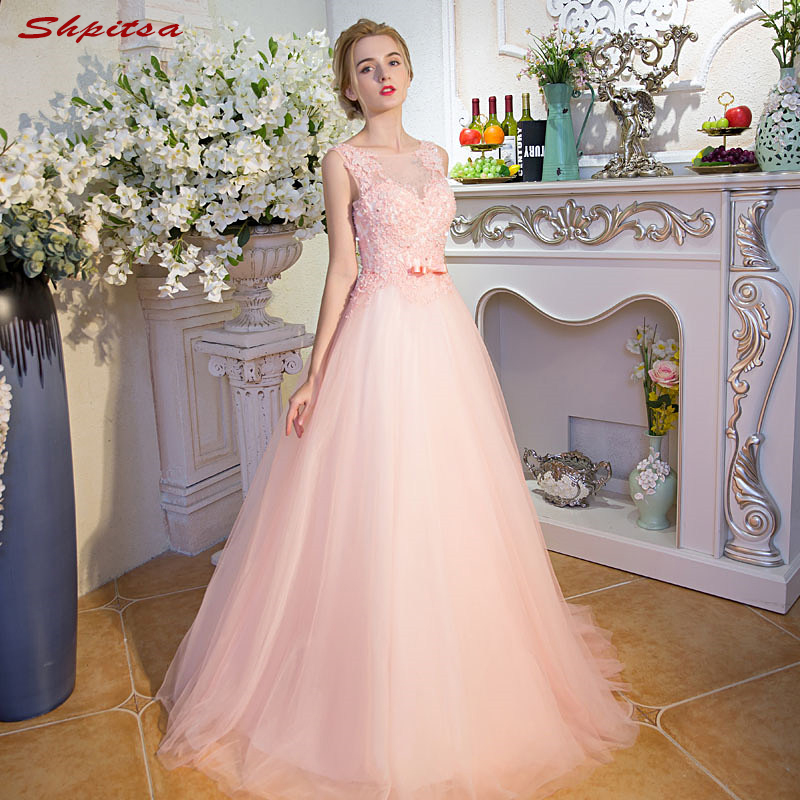 Pink Lace Mother Of The Bride Dresses For Weddings Beaded Evening Groom Godmother Dresses
