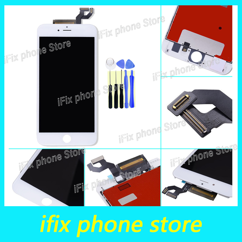 ФОТО 10pcs/lot Grade AAA+++ For iPhone 6S Plus LCD With 3D Force Touch Screen Digitizer Assembly 5.5 Inch Display No Dead Pixel