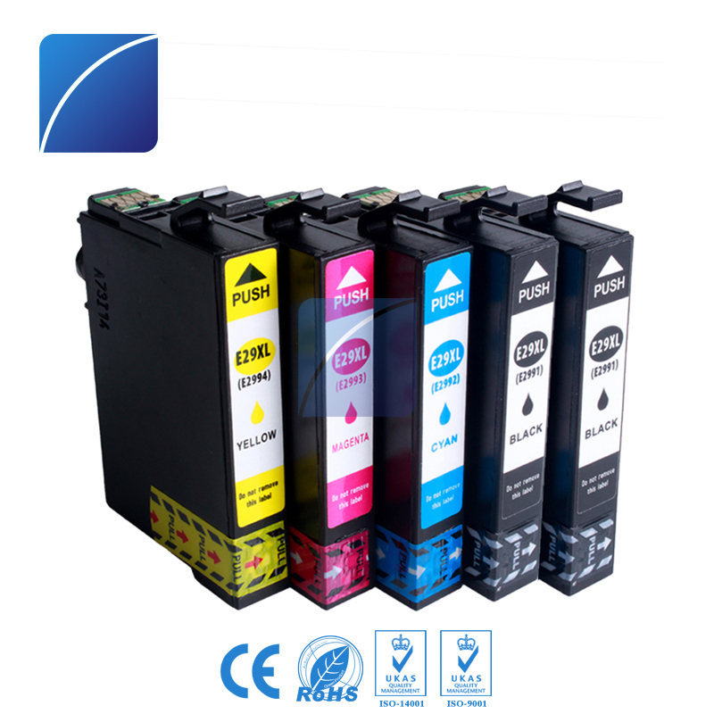 5 pcs T2991 2992 2993 2994 29XL Ink Cartridge Compatible for Epson Printer XP-332 XP-235 XP-335 XP-432 XP-435 printer