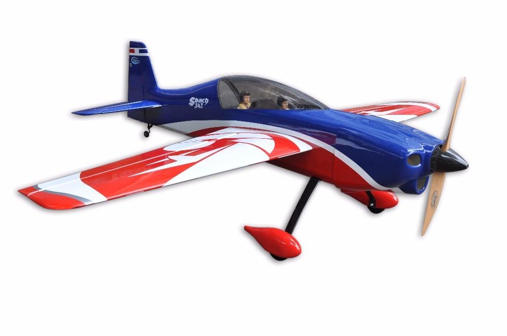 New Colour Scheme Sbach 20cc 64 20cc rc Plane Oracover film ARF RC Balsa Wood Model Airplane