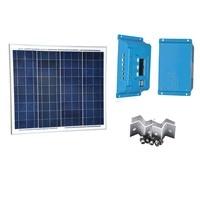 Solar Kit Marine Panel Solar 18v 50W 12V Solar Charge Controller 10A 12V 24V Z Bracket