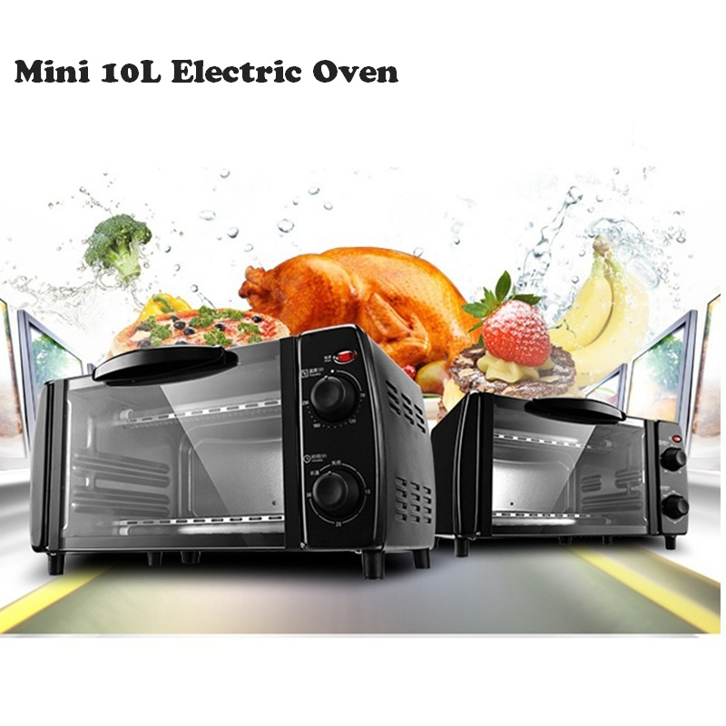 DMWD 10L Mini Electric Oven Multifunctional Baking Oven Pizza Cake Roast Steak Chicken Cake Bread Tart Maker For Household 220V 220v aux 9l multifunctional electric oven household bread cake pizza baker machine automatic barbecue electric oven