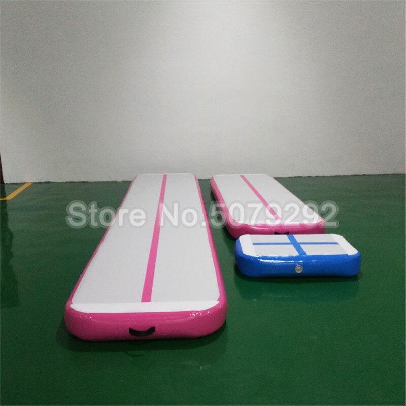 Hot Sale Mini Air Track With Pump DWF Inflatable Mattress Sport Air Track Cheap Price 3M Air Track Trampoline